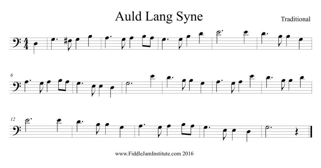 Auld Lang Syne   Fiddle Jam Institute